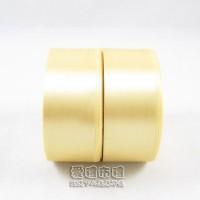 【愛禮布禮】婚禮小物:香檳金色,5分素面單面緞帶,1捲25碼/16元_圖片(1)