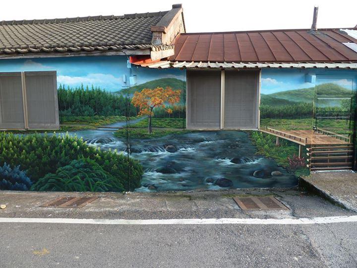 牆壁彩繪 社區美化彩繪 幼稚園彩繪 校園彩繪 3D立體彩繪 人體彩繪 彩繪藝術工作坊 - 20141228160416-754352146.jpg(圖)