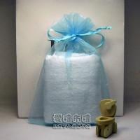 【愛禮布禮】婚禮小物:水藍色雪紗袋12x17cm,1個2.5元起_圖片(1)