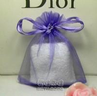 【愛禮布禮】婚禮小物:淡紫色雪紗袋8x10cm,1個1.6元起_圖片(1)