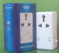 OEM生産批發遠程遙控智能插座 wifi遠程手機遙控 智能家居_圖片(3)