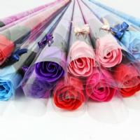 【愛禮布禮】婚禮小物:香皂玫瑰花束(隨機出貨不挑色)/10元_圖片(1)