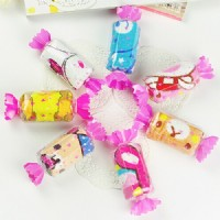 【愛禮布禮】婚禮小物:糖果造形毛巾禮盒(隨機出貨不挑色)/11元_圖片(1)