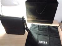 Hugo Boss 硬殼斜背包/ 深咖啡/ 全新品/ 正品/ 質感/ 可面交_圖片(2)