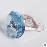 【愛禮布禮】婚禮小物: 鑽戒鑰匙圈禮盒(紅藍白紫4色混批)15元_圖片(1)