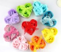 【愛禮布禮】婚禮小物:3朵香皂花禮盒(隨機出貨不挑色)9元_圖片(1)