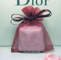 【愛禮布禮】婚禮小物:酒紅色雪紗袋8x10cm,1個1.6元起10個 一般價 20 元 會員價 20 元_圖片(1)