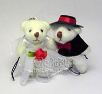 【愛禮布禮】婚禮小物:婚禮小物,5公分婚紗熊(1對)一般價 23 元 會員價 23 元_圖片(1)