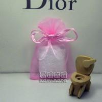 【愛禮布禮】婚禮小物:粉紅色雪紗袋6x9cm~1個1.3元起10個 一般價 17 元 會員價 17 元 50個 一般價 65 元_圖片(1)