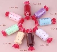 【愛禮布禮】婚禮小物:素色糖果造形毛巾禮盒(隨機出貨不挑色)一般價 11 元 會員價 11 元_圖片(1)