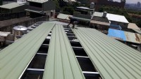 鐵屋承包   更換彩色鋼板_圖片(2)