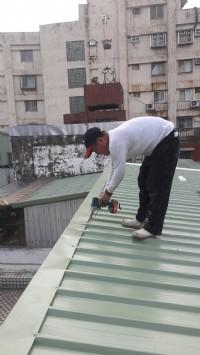 鐵屋承包   更換彩色鋼板_圖片(3)