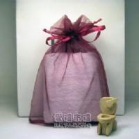 【愛禮布禮】婚禮小物: 酒紅色紗袋20x30cm,1個5.5元 50個 一般價 275 元 會員價 275 元_圖片(1)