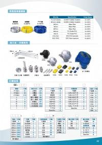 K,J,T,E,R,S,B,TYPE,白金電阻體輸出訊號:PT100/PT500/PT1000Ω,各式感溫棒,熱電偶,5迴路表面溫度計, 5迴路溫濕度顯示,5迴路温度控制器,5輸入温度熱電偶,5輸入壓_圖片(4)