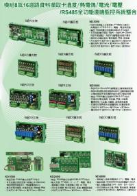 微電腦智能型8迴路DI/DO/AO,可擴充輸出RS485模組監控器,DIO繼電器8迴路表面型溫度計控制器,DO繼電器8迴路電壓分配器,DO繼電器資料擷取卡8迴路差壓控制器,DO繼電器8迴路投入式液位傳_圖片(4)