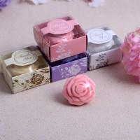 【愛禮布禮】婚禮小物: 玫瑰花造型香皂禮盒(平均出貨不挑色)一般價 17 元 會員價 17 元_圖片(1)