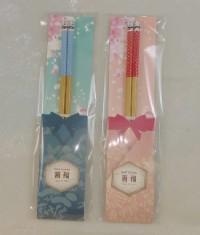 【愛禮布禮】婚禮小物: 箸福囍筷禮盒(兩色平均混出) 一般價 12 元 會員價 12 元_圖片(1)