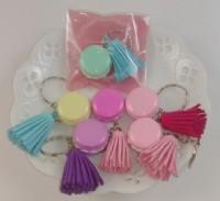【愛禮布禮】婚禮小物: 馬卡龍鑰匙圈(OPP袋獨立包裝5色平均混出)一般價 18 元 會員價 18 元_圖片(1)