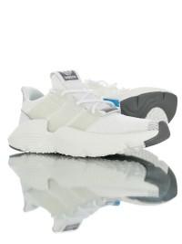 adidas originals prophere 舒適針織面刺猬套腳情侶款三葉草運動慢跑鞋_圖片(1)