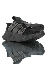 adidas originals prophere 舒適針織面刺猬套腳情侶款三葉草運動慢跑鞋_圖片(2)