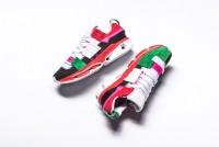 adidas consortium twinstrike adv A3 大底系列復古解構主義針織情侶慢跑鞋 聖誕紅綠白 _圖片(1)
