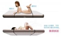 【另類遊戲‧簡易型 - SM 調情睡床綁帶捆綁束縛組】情趣用品公司lovense-情趣用品 tanga_圖片(2)