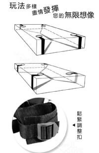 【另類遊戲‧簡易型 - SM 調情睡床綁帶捆綁束縛組】情趣用品公司lovense-情趣用品 tanga_圖片(4)