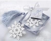 【愛禮布禮】婚禮小物:雪花書簽禮盒 一般價 10 元 會員價 10 元_圖片(1)