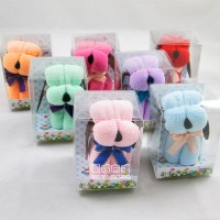 【愛禮布禮】婚禮小物:小狗造形毛巾禮盒(隨機出貨不挑色)一般價 15 元 會員價 15 元_圖片(1)