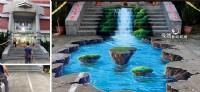 牆壁彩繪,3D彩繪,打卡牆,彩繪,3D地板彩繪,餐廳特色打卡牆彩繪,民宿彩繪,校園彩繪,LINE  ID: LI5228   tel:0935-161555_圖片(4)