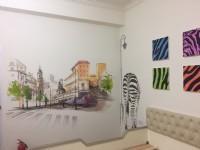 飛鴿牆壁彩繪,民宿彩繪,打卡牆彩繪@tel:0935161555  line-id : li5228_圖片(2)
