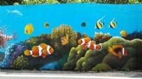 3D牆壁彩繪,打卡牆彩繪,LIND-ID:Li5228或電0935-161555找阿輝!_圖片(4)