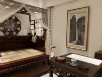 上古雅苑 有瀑布、庭園、藝術品的舒適空間可品茶、品咖啡、品畫是個心靈SPA懂生活的空間_圖片(2)