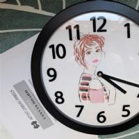 【客制手繪人像時鐘 寫實水彩藝術 送縮時影片 記錄美好】掛鐘 擺鐘 壁鐘 創意禮物 紀念日 復刻回憶 紀念品_圖片(2)