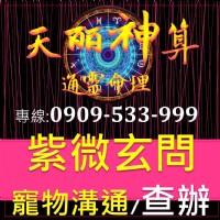 紫微命理 觀靈三世因果 姓名玄學 無形有形欠點0909-533-999_圖片(1)