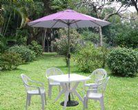 休閒木傘,休閒傘,休閒傢俱,咖啡傘,庭院休閒傘,庭園遮陽傘,庭園咖啡傘_圖片(2)