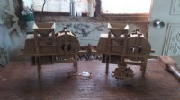 明宏雕刻社手工訂製製茶機具組,風穀機,柚木手工製作_圖片(4)