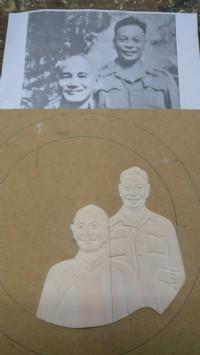 明宏彫刻社.3d木模雕刻-紀念幣人像木模彫刻.設計. 木雕品修理諮詢. 歡迎光臨明宏雕刻粉絲專頁參觀_圖片(1)