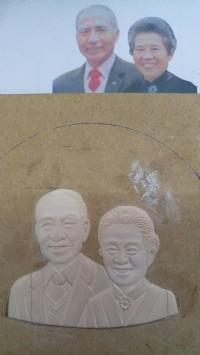 明宏彫刻社.3d木模雕刻-紀念幣人像木模彫刻.設計. 木雕品修理諮詢. 歡迎光臨明宏雕刻粉絲專頁參觀_圖片(3)