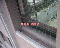 家適美07-8151888窗戶陽台兒童防墜窗-隱形窗-鋼索防護窗_圖片(2)