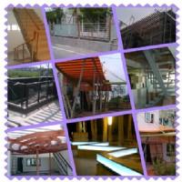 居家雨遮,夾層,樓承鋼板,鐵製樓梯,室內裝置鐵件,玻璃自動門,電動鐵捲門馬達遙控器,水塔架_圖片(3)