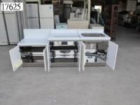 17625 三件式 流理台組 回收辦公桌椅,北台灣二手廣場,估價回收傢俱,二手家具,民宿家具,飯店家具,桃園二手家具,峇里島風家具_圖片(2)