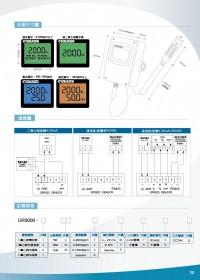 GR9000液晶LCD背光出線型空氣品質二氧化碳,溫溼度傳送器,二氧化碳偵測器,壁掛型溫溼度偵測傳送器,出線型一氧化碳感測器,溫度,濕度,液位,壓力,熱電偶,二氧化碳警報控制,類比式4~20ma一氧化_圖片(4)
