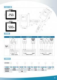 GR3000風管型溫溼度傳送器,管壁掛型溫溼度傳訊器,數位溫溼度感測器,大型溫濕度顯示看板,大型溫度顯示器,數位溫度看板,大字幕溫度看板,數位溫度看板,數位溫濕度看板,數位壓力顯示器,數位差壓計顯示器_圖片(4)