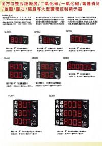 SD2000循環16輸入顯示器PT100,熱電偶,電壓,電流,輸出RS485模組監控,,控制器溫度,變送器二氧化碳,傳感器溫濕度,隔測式表面溫度計,瓦時計集合式電錶,傳送器二氧化碳數位溫度顯示器_圖片(4)
