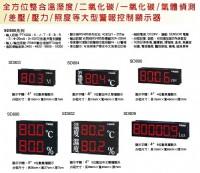 溫濕度傳送顯示器,温泉PT100溫度顯示器,一氧化碳/二氧化碳大型警報控制顯示器,表面溫度顯示器/大型溫溼度顯示傳送器-PM2.5細懸浮微粒-Co2二氧化碳-一氧化碳-PM10空氣品質RS485監控_圖片(1)