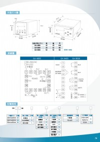 GA9400-溫溼度PID控制器/溫度電動閥控制器/溫度計PID偵測器/三通閥溫度PID控制/表面溫度冰水顯示器/溫度馬達控制/溫度PID電力加濕器/三相匯流排温度監測/貼片表面型溫度計-溫度壓力水管_圖片(4)
