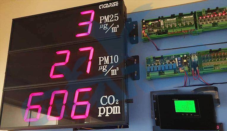PM2.5空氣品質顯示器/六合一室內空氣品質監測器/室內空氣品質監測器/粉塵偵測器/ PM2.5粉塵偵測器/壁掛式細懸浮微粒(PM2.5)空氣品質偵測器/壁掛式細懸浮微粒PM2.5空氣品質 - 20200327145208-292084733.jpg(圖)
