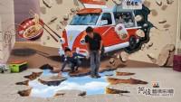 3D牆壁彩繪,專精的彩繪藝術工作者,Tel:0955660115_圖片(1)
