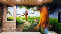 3D牆壁彩繪,專精的彩繪藝術工作者,Tel:0955660115_圖片(2)
